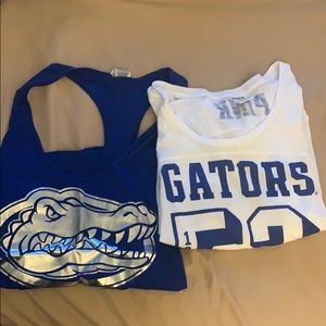 Florida Gators PINK bundle tank top long sleeve